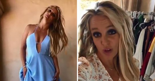 Britney Spears shuts down conspiracy theorists with ...