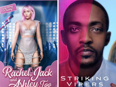 Miley Cyrus becomes perfect popstar Barbie in chilling new Black Mirror teaser posters