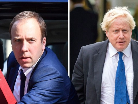Matt Hancock mocks Boris Johnson's 'f**k business' comment by swearing some more