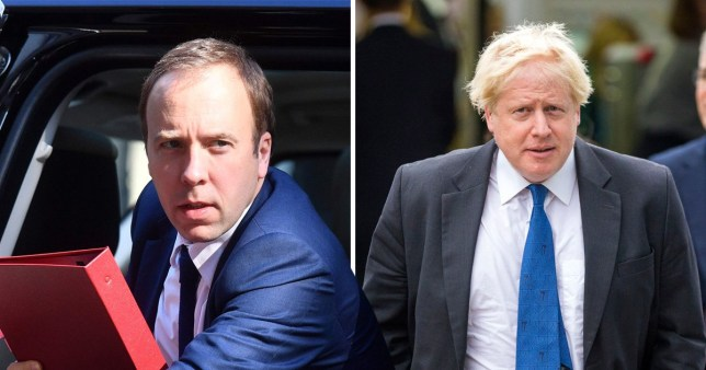 Matt Hancock is backing Boris Johnson to become Prime Minister
