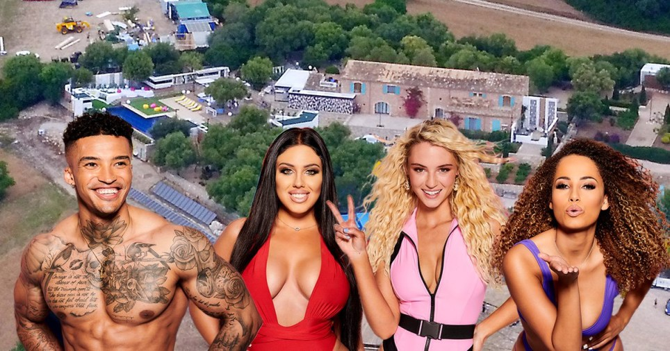Love Island villa in Mallorca with the new contestants