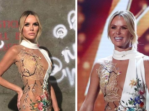 Britain's Got Talent viewers are divided over Amanda Holden's wardrobe choice tonight