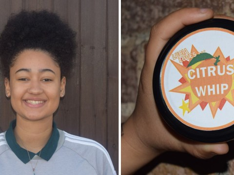 17-year-old launches Afro beauty range after learning to do her own hair when her mum became disabled
