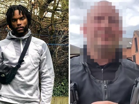 Vigilante dad says officer 'racially profiled' him after stop and search