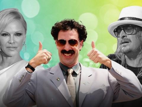 Sacha Baron Cohen confirms that Borat was reason for Pamela Anderson and Kid Rock's divorce