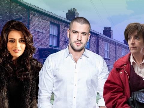 Are Rana, Aidan and Hayley returning to Coronation Street tonight?