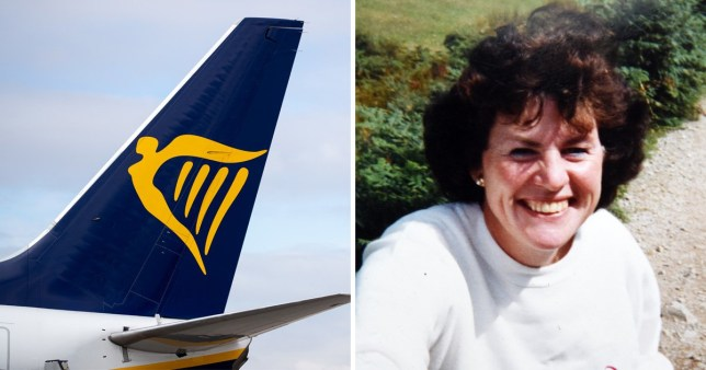 Grandmother died in airport 'surge of holidaymakers' for Ryanair flight