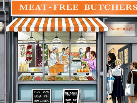 Sainsbury's launches meat-free butchers