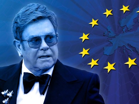 Elton John is 'sick to death of Brexit' as he slates 'English idiots' who voted to leave the EU