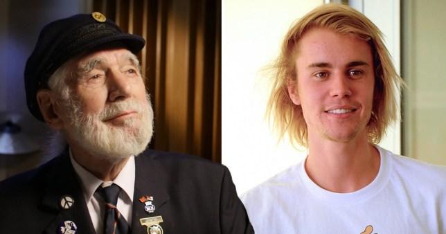 Jim Radford and justin Bieber