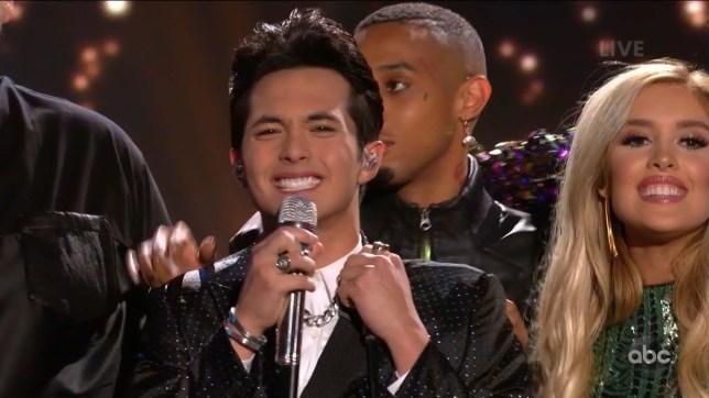 American Idol winner Laine Hardy
