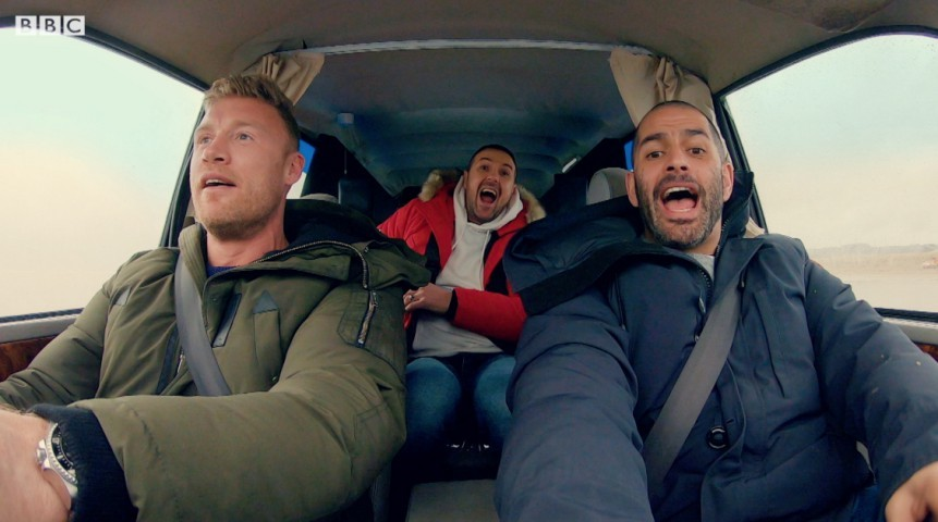 New Top Gear series 27 trailer teases mayhem as Paddy McGuinness and Freddie Flintoff take over
