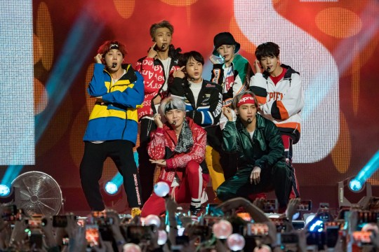 BTS break down in tears at Wembley concert as Army surprise