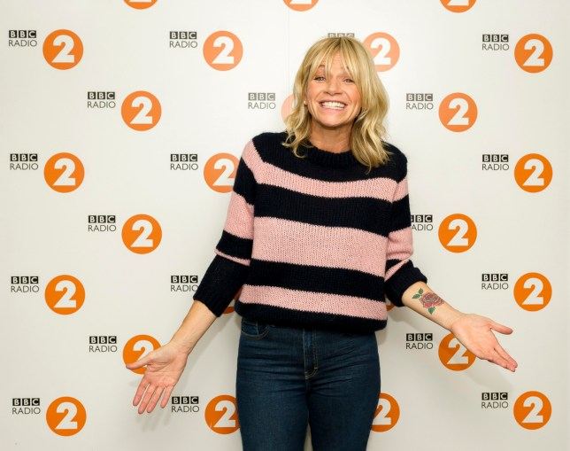 Radio 2 Presenters 2018. Zoe Ball - (C) BBC - Photographer: Sarah Jeynes
