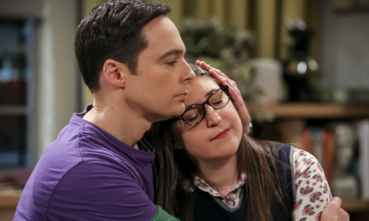 Sheldon and Amy from the Big Bang Theory
