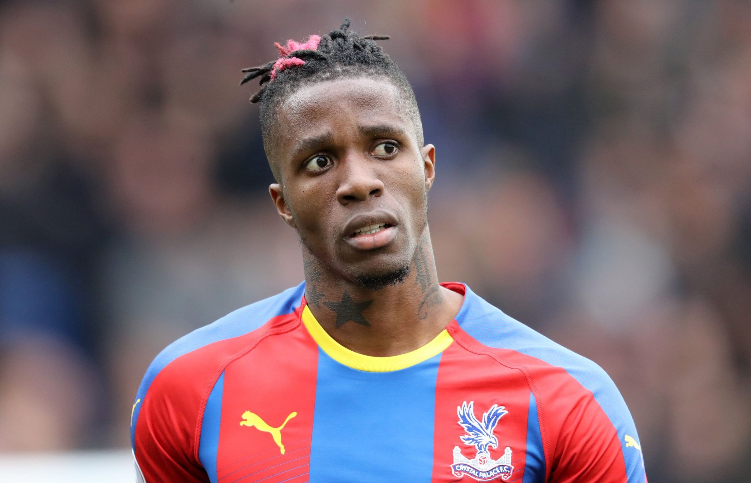 Wilfried Zaha open to Manchester United return after asking to leave Crystal Palace