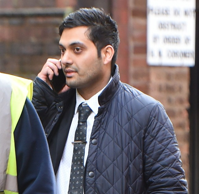 "A pharmacist allegedly slipped a laxative into a trainee's water bottle at a Boots store to ""teach her a lesson"", a court was told. Shahan Mir, 34, denies a charge of causing a noxious thing to be taken with intent to annoy. Caption: Shahan Mir, 34, of Colebourne Road in Kings Heath, Birmingham, pictured outside Birmingham Crown Court where he denies one charge of causing a noxious thing to be taken with intent to annoy"