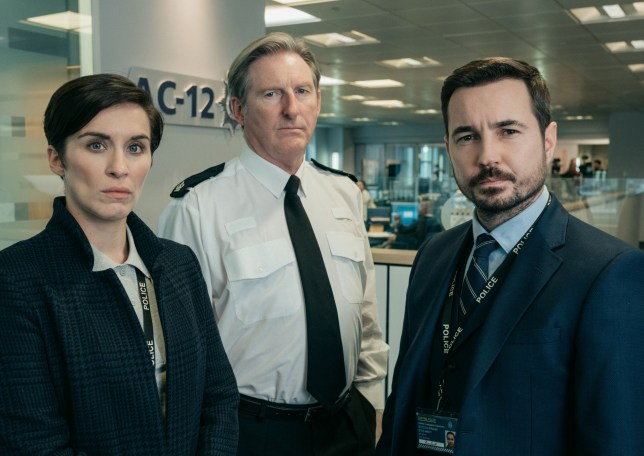 Line Of Duty's Vicky McClure and Martin Compston