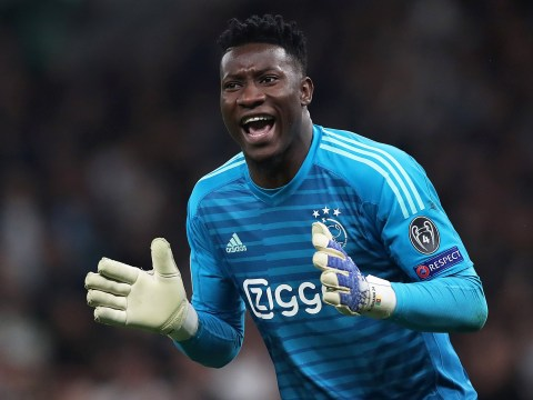 Manchester United submit bid to sign Ajax goalkeeper Andre Onana as David De Gea's replacement