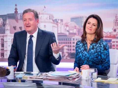 Susanna Reid brands Piers Morgan a 'diva' and reveals his Good Morning Britain demands