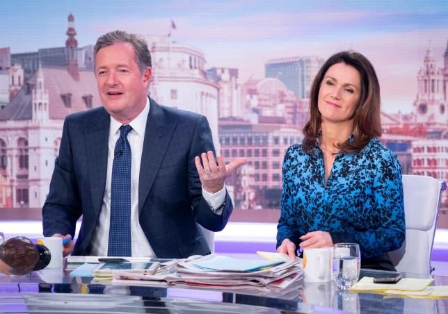 Piers Morgan called a 'diva' as Susanna Reid outs his GMB demands