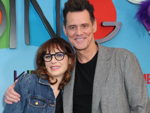 Jim Carrey all smiles at Kidding screening after critics slate Sonic The Hedgehog trailer