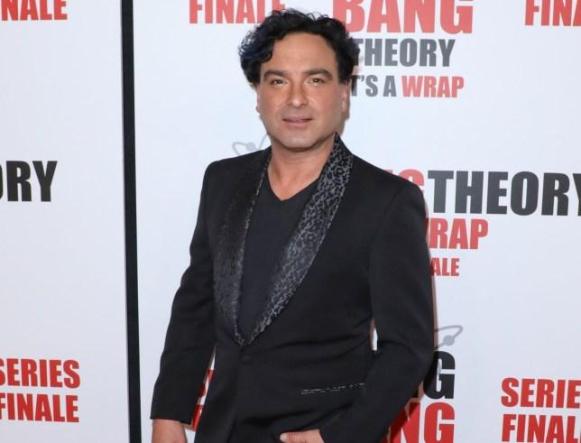 Johnny Galecki at Big Bang Theory wrap party