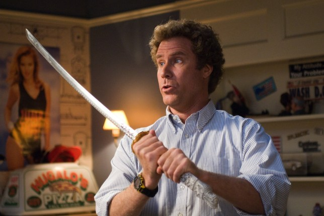 Editorial use only. No book cover usage. Mandatory Credit: Photo by Columbia/Kobal/REX/Shutterstock (5886230cm) Will Ferrell Step Brothers - 2008 Director: Adam McKay Columbia USA Scene Still Comedy Frangins malgr?? eux