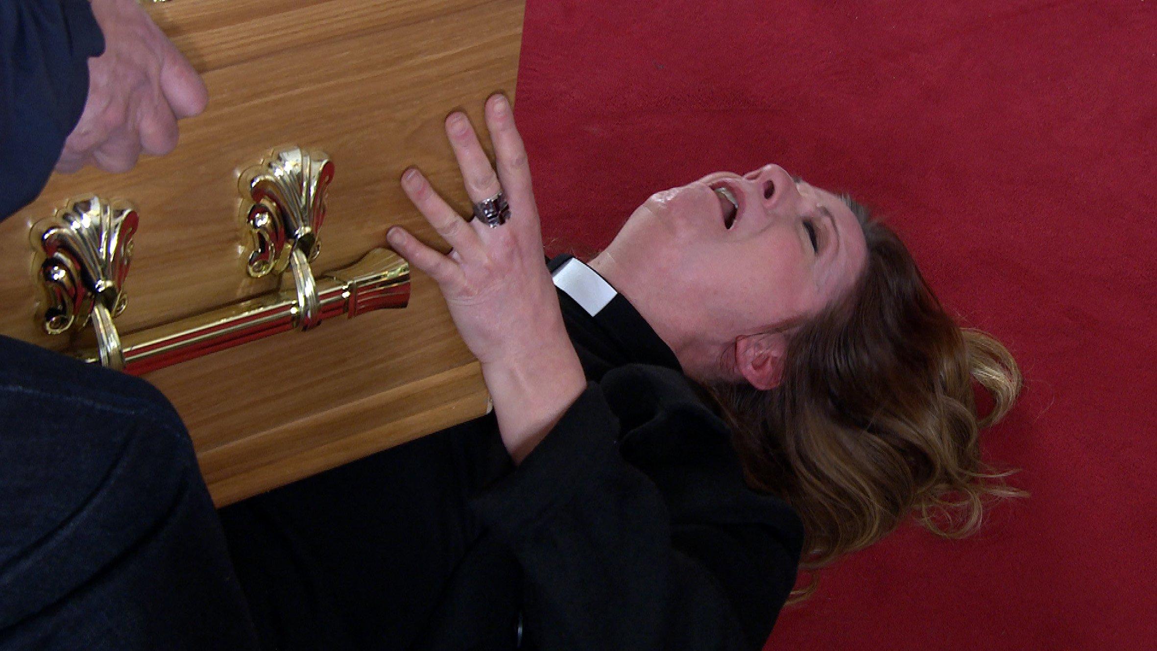 Emmerdale spoilers: Harriet Finch killed by coffin in shock exit?