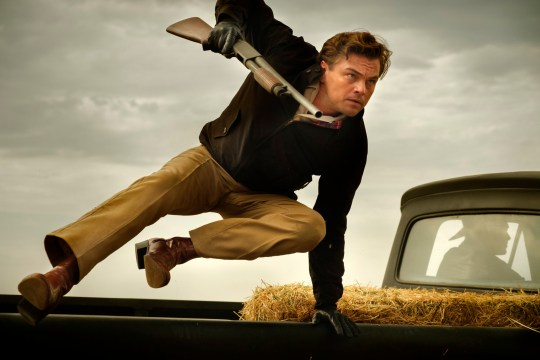 Leonardo DiCaprio in Quentin Tarantino's Once Upon a Time in Hollywood