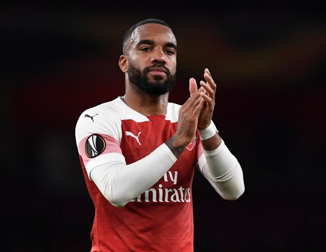 Alexandre Lacazette has been heavily linked with Barcelona