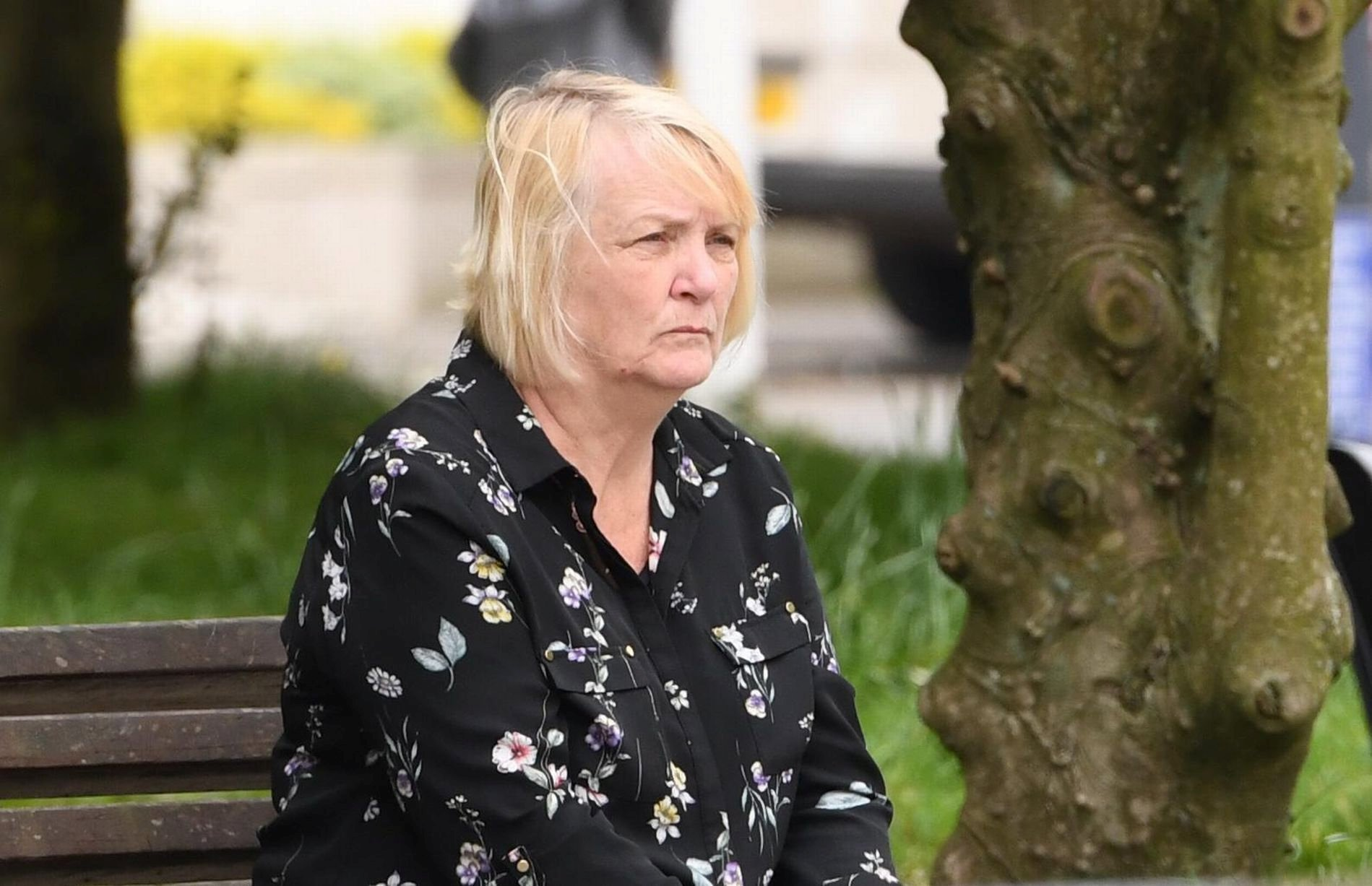 Carer Susan Stuart denied the allegations (Picture: PlymouthLive/SWNS)