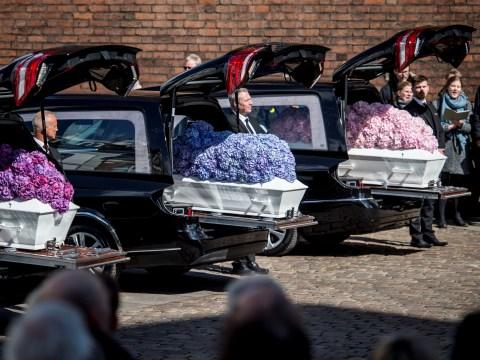 Asos billionaire's three children laid to rest after Sri Lanka terror attacks