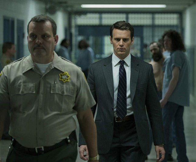 Holden from Mindhunter