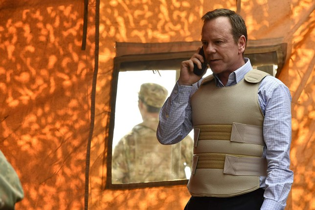 Kiefer Sutherland's Designated Survivor