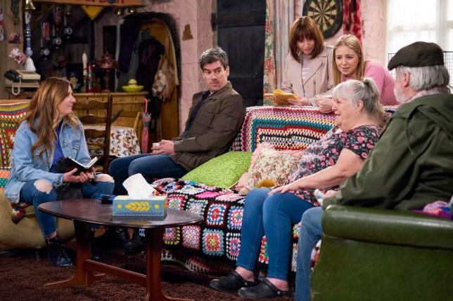 Will Zak (Steve Halliwell) find love again after Lisa Dingle (Jane Cox)?