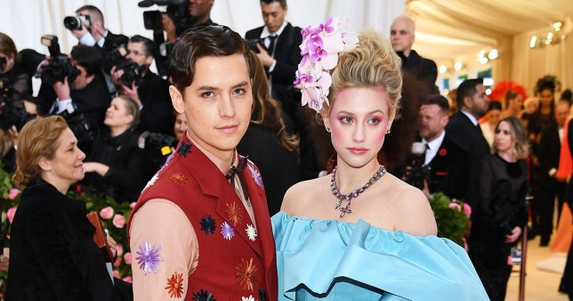 Cole Sprouse and Lili Reinhart at the Met Gala 2019