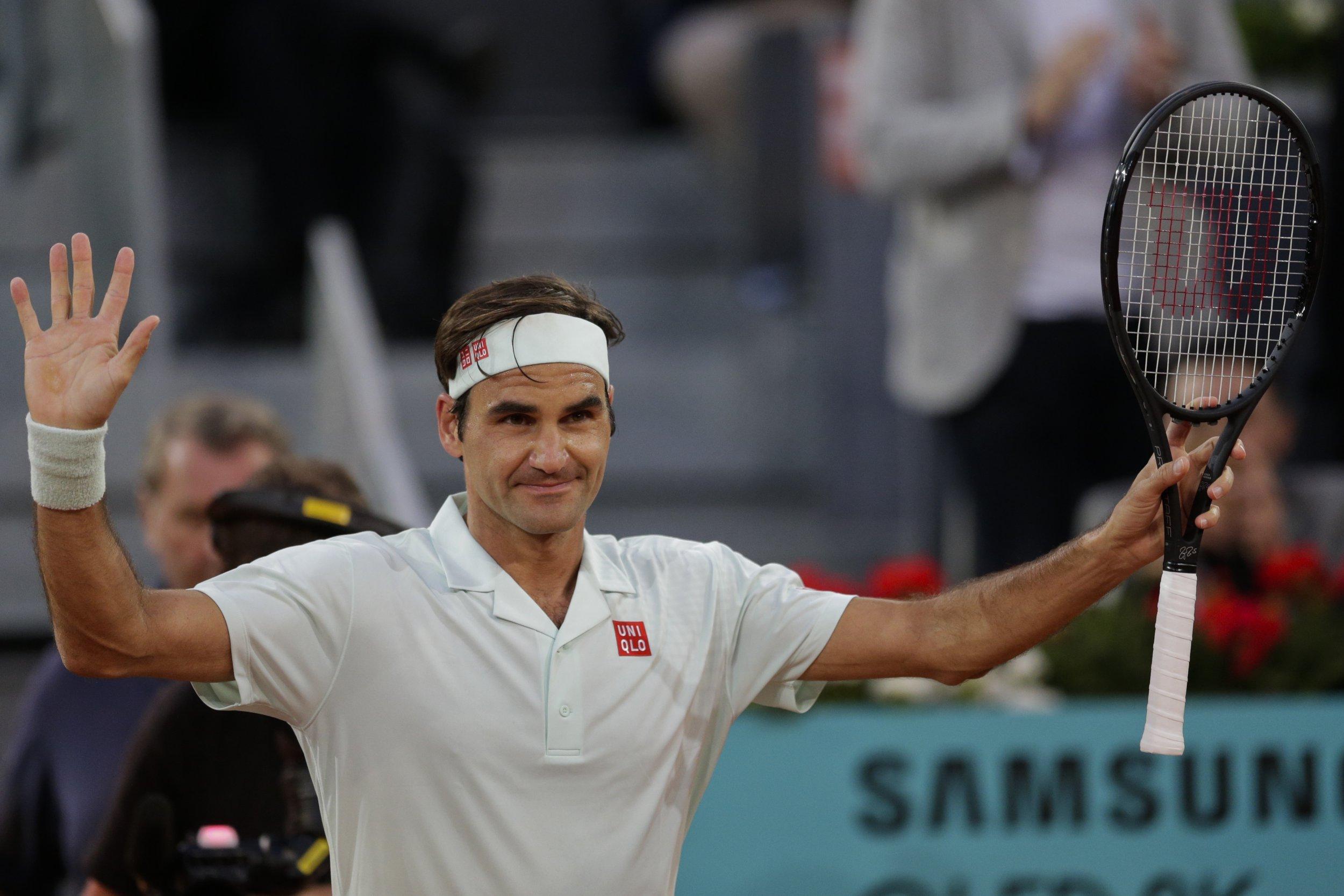 Roger Federer eyes shot at Rafael Nadal at the Madrid Open