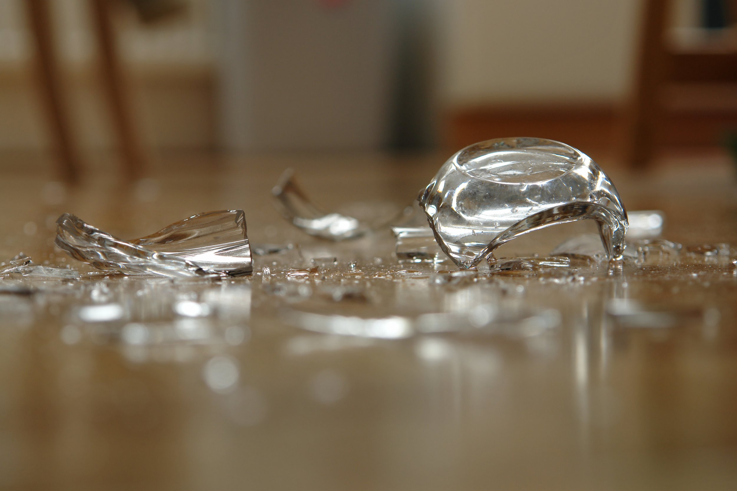 Parents love this easy hack for picking up broken glass