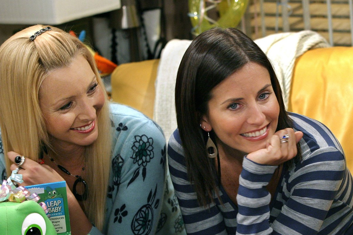 Lisa Kudrow is there for Courteney Cox after Friends star receives awards nomination for hit documentary