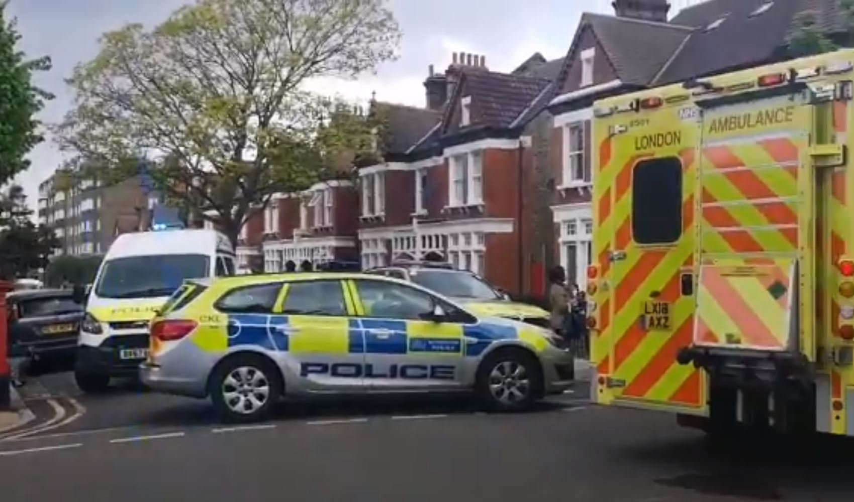 Woman held against her will by man armed with knife in London