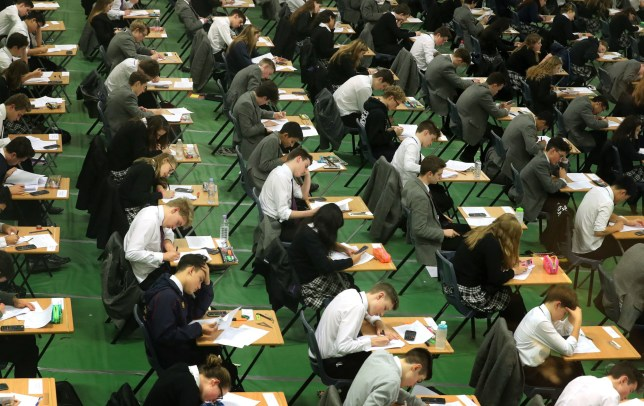 File photo dated 09/01/17 of students sitting their GCSE mock exams at a school in Brighton, East Sussex. Instagram has launched an online magazine to give students advice and support around mental health during exam season. PRESS ASSOCIATION Photo. Issue date: Thursday May 9, 2019. The Facebook-owned social media platform is working with crisis support service for young people The Mix, and charity Campaign Against Living Miserably (Calm). See PA story TECHNOLOGY Exams. Photo credit should read: Gareth Fuller/PA Wire