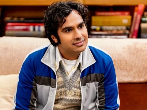 Big Bang Theory fans spot Raj Koothrappali plot hole and we have serious questions