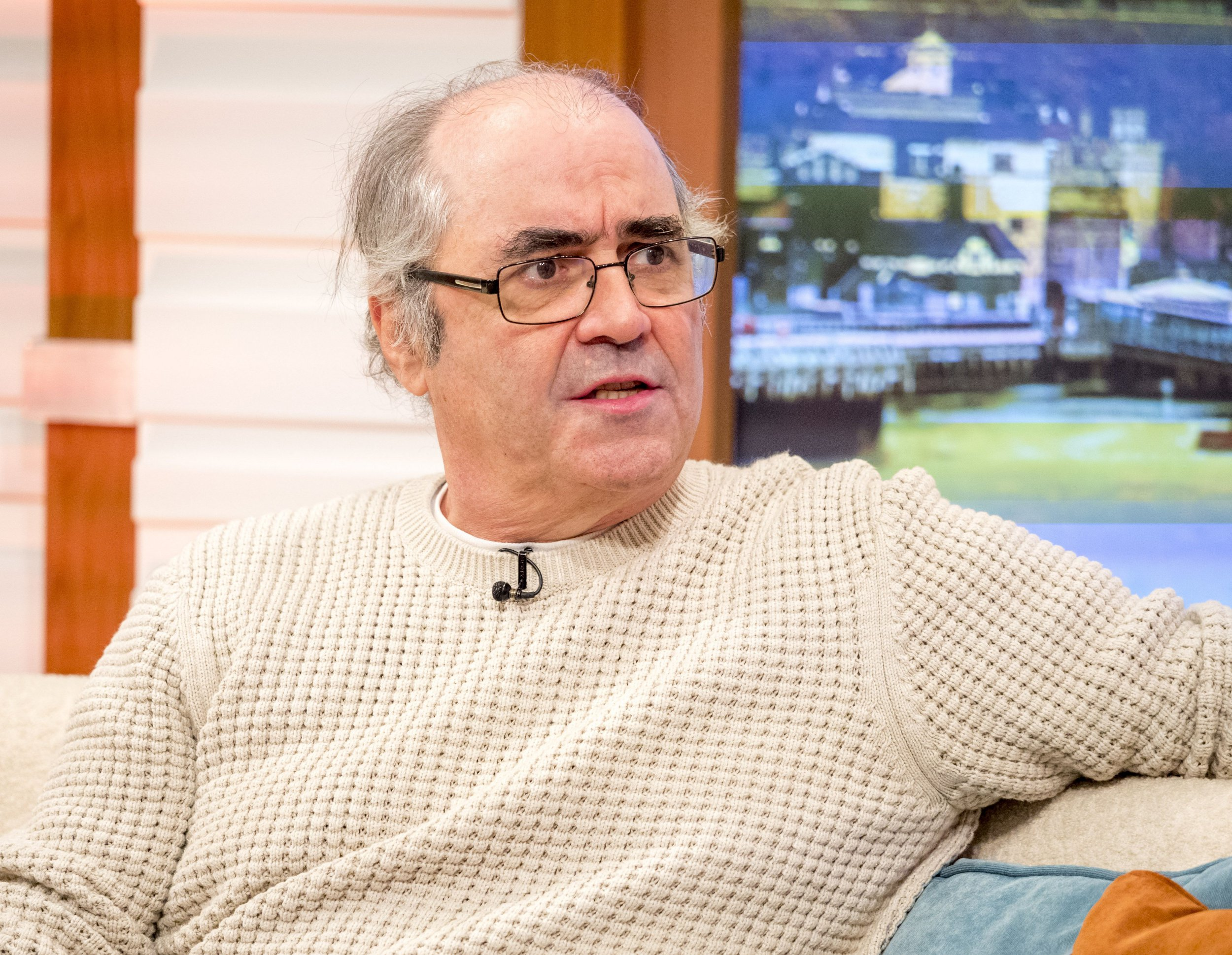 Editorial use only Mandatory Credit: Photo by Ken McKay/ITV/REX/Shutterstock (9125484ae) Danny Baker 'Good Morning Britain' TV show, London, UK - 10 Oct 2017 DANNY BAKER He's the geezer with an appetite for gossip, so expect lots when Danny pops in to talk about his new book Going On The Turn, battling cancer and the second series of his hit sitcom, Cradle to Grave. * ULAYS: Best of Danny Baker * SOFA: Danny Baker on the sofa