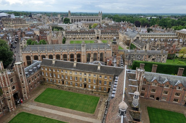 File photo dated 29/05/14 of Cambridge University buildings, as the University is launching a new research lab to explore radical ways of fixing the Earth's climate. PRESS ASSOCIATION Photo. Issue date: Friday May 10, 2019. The Centre For Climate Repair is being established in response to concerns that current efforts to tackle climate change by reducing emissions will not be enough to halt or reverse damage to the environment. See PA story ENVIRONMENT Repair. Photo credit should read: Nick Ansell/PA Wire