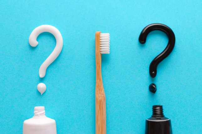 You need to be careful with charcoal toothpaste