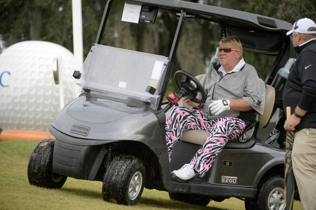 John Daly has been given permission to use a cart while he competes at the PGA Championship (Picture: AP)