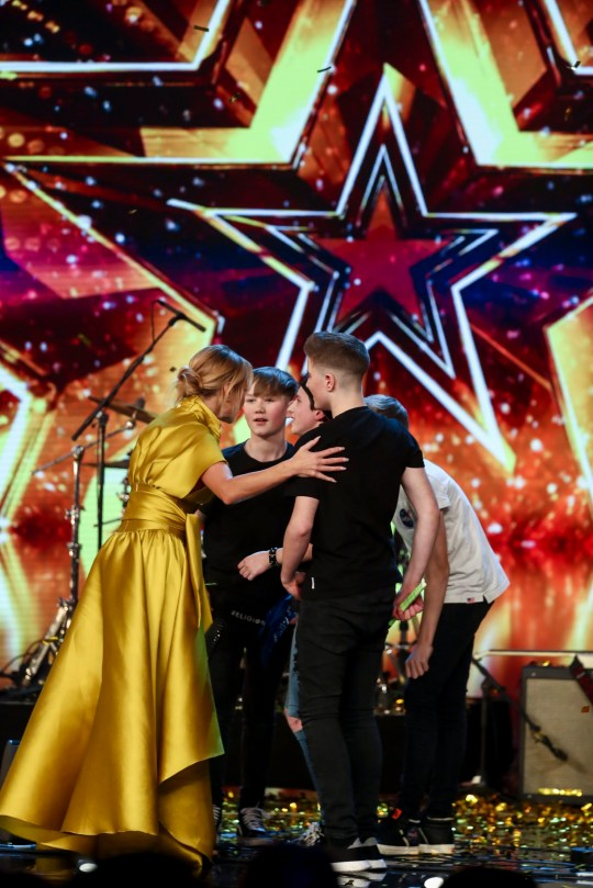 Who are Britain's Got Talent's Chapter 13, who got Amanda Holden's