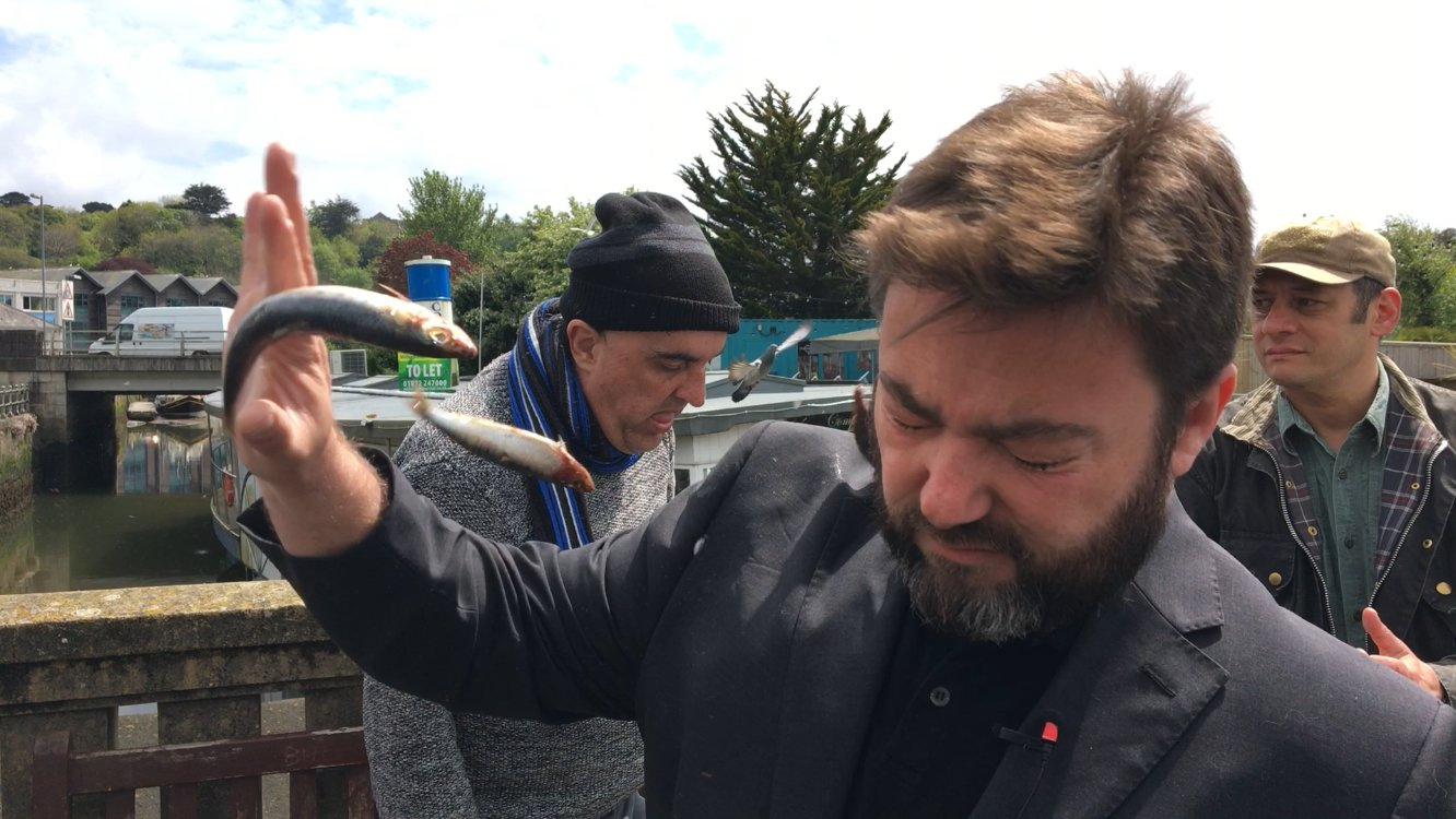 Ukip candidate Carl Benjamin doused in milkshake for fourth time in a week