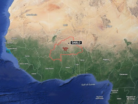 At least six dead as '30 gunmen' storm Catholic church and open fire in Burkina Faso